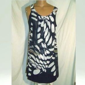 Michael Tyler Outer Flowy Shell Dress NWT XL